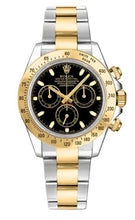 Load image into Gallery viewer, AUTOMATIC ROLEX DAYTONA 116523 REPLICA black/white dial  TWO TONE