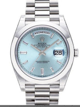 Load image into Gallery viewer, Day-Date Automatic Ice Blue Dial  Watch 228206 IBLSP