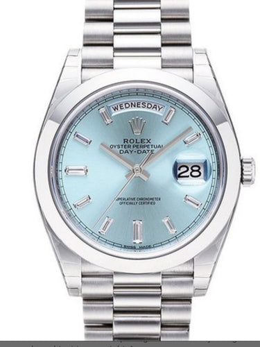 Day-Date Automatic Ice Blue Dial  Watch 228206 IBLSP