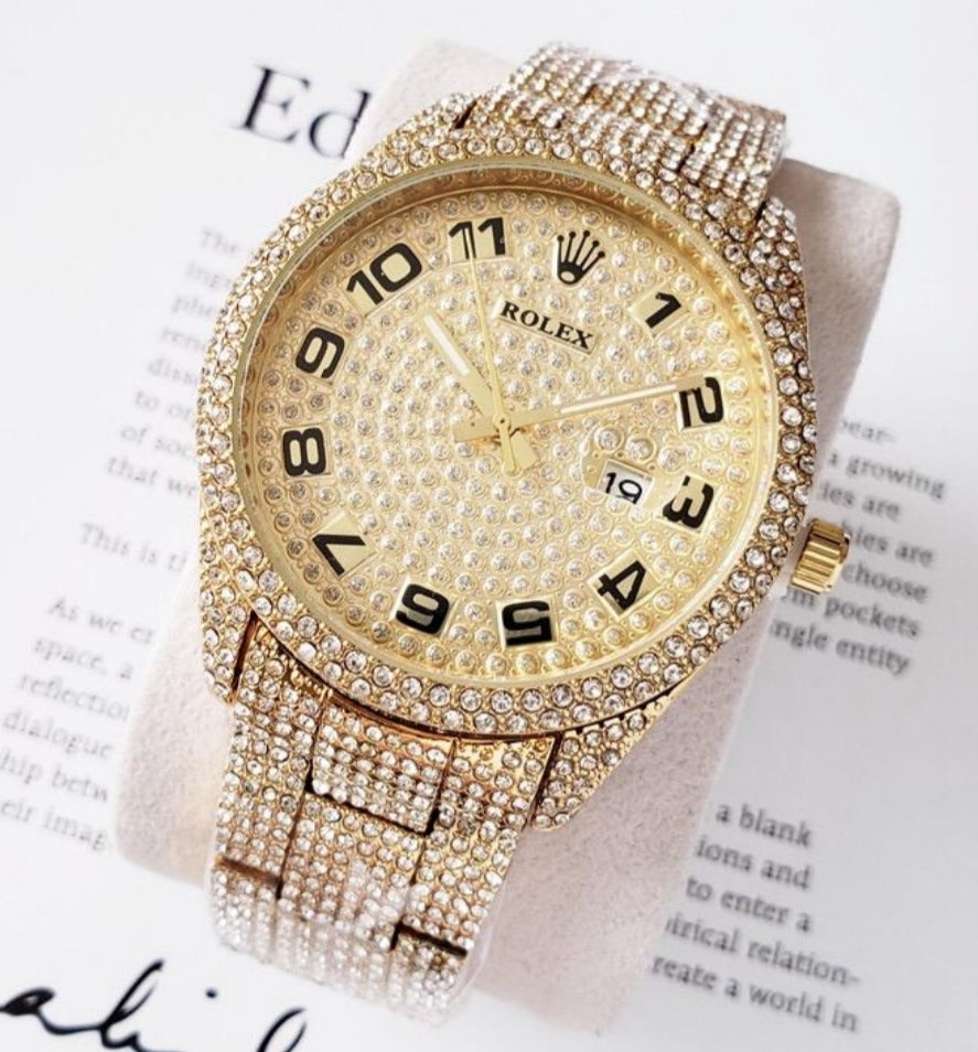 Gold iced out - Top Watches