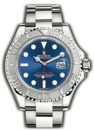 ROLEX • YACHT-MASTER • Oyster, 40 mm BLUE DIAL • 116622 – 0001 - Top Watches