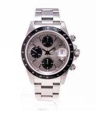 "Load image into Gallery viewer, Prince Date Chronograph Stahl ""small Block"" 79260"