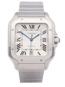 SANTOS DE CARTIER STAINLESS STEEL 4072 OR WSSA0009