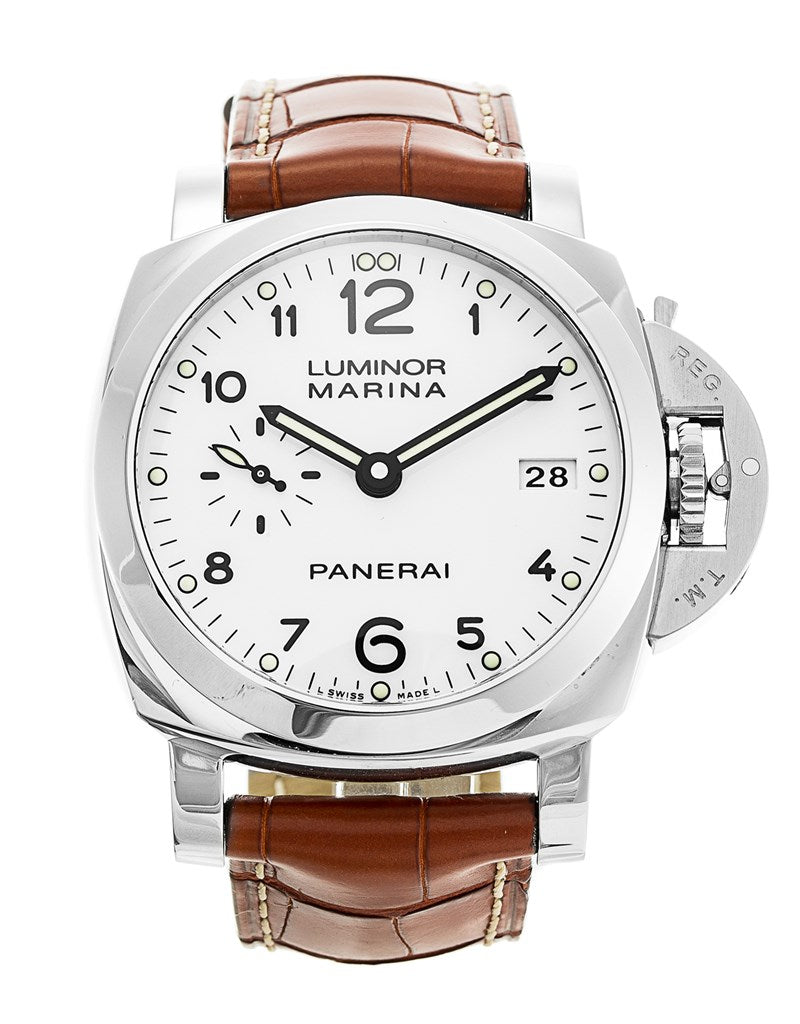 PANERAI LUMINOR MARINA PAM00523 WHITE? DIAL AUTOMATIC