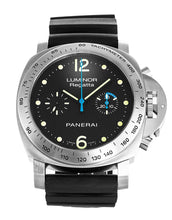 Load image into Gallery viewer, PANERAI LUMINOR MARINA PAM00308 BLACK WAFFLE HOBNAIL DIAL AUTOMATIC