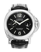 Load image into Gallery viewer, PANERAI LUMINOR MARINA PAM00104 BLACK DIAL AUTOMATIC