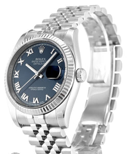 ROLEX DATEJUST MENS AUTOMATIC BRUSHED STAINLESS RDD026