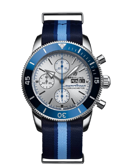 Replica Breitling Superocean Heritage Chronograph Automatic Silver Dial Men's Watch A133131A1G1W1