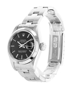 AUTOMATIC BLACK DIAL DATEJUST 69160 - Top Watches