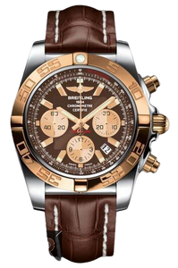 Breitling Chronomat 44 Stainless Steel & Gold Watch Replica