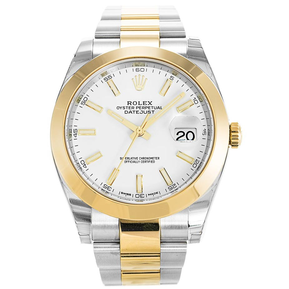 AUTOMATIC GOLD DATEJUST II 126303 - Top Watches