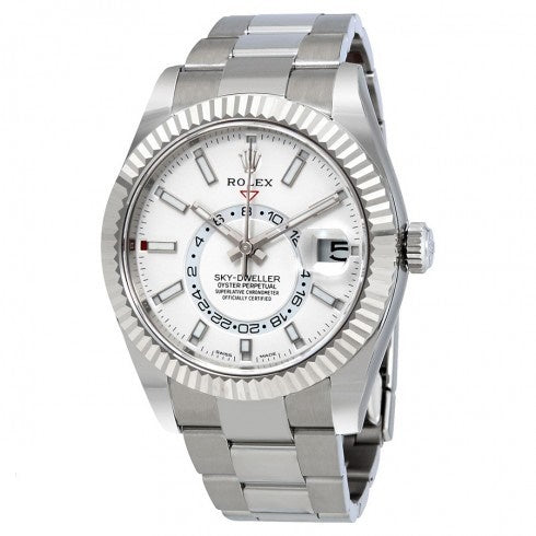 Replica Rolex Oyster Perpetual Sky-Dweller 326934 Automatic Men's Oyster Watch-3 Dial option