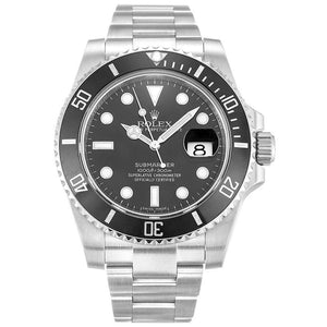 Black Submariner - Top Watches