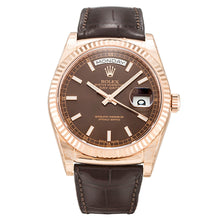 Load image into Gallery viewer, AUTOMATIC ROLEX DAY-DATE 118135 CHOCOLATE - Top Watches