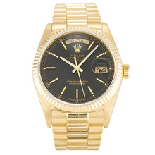 Load image into Gallery viewer, AUTOMATIC ROLEX DAY-DATE 18038 BLACK