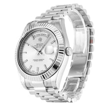 Load image into Gallery viewer, AUTOMATIC ROLEX DAY-DATE II 218239 SILVER - Top Watches