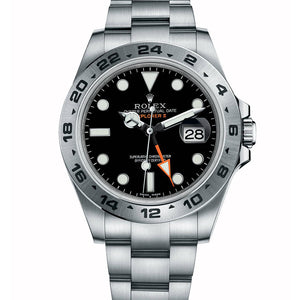 AUTOMATIC EXPLORER II BLACK 42MM 216570BKSO - Top Watches
