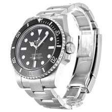 Load image into Gallery viewer, BLACK DIAL ROLEX SUBMARINER 114060 AUTOMATIC