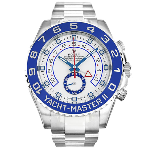 AUTOMATIC ROLEX YACHT-MASTER 116680 WHITE - Top Watches
