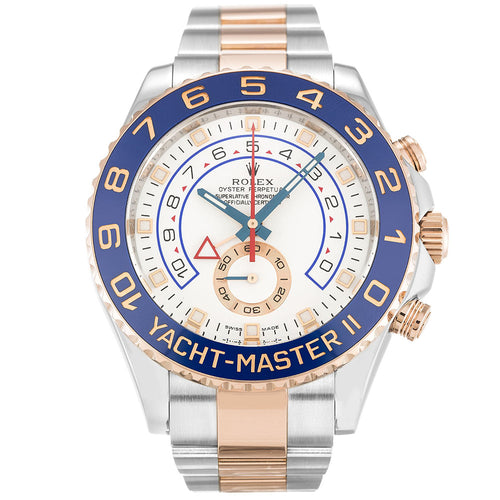AUTOMATIC ROLEX YACHT-MASTER 116681 WHITE - Top Watches