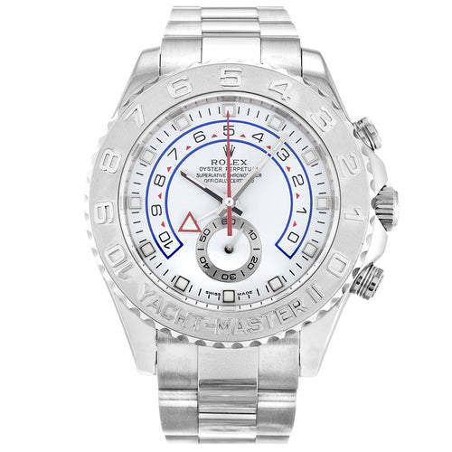 AUTOMATIC ROLEX YACHT-MASTER 116689 WHITE - Top Watches