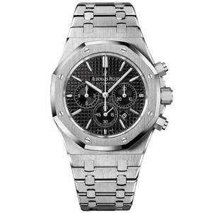 Royal Oak - Silver/Black Chronograph