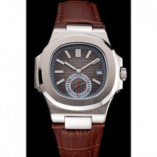 Load image into Gallery viewer, MEN PATEK PHILIPPE NAUTILUS SILVER DIAL