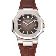 Load image into Gallery viewer, MEN PATEK PHILIPPE NAUTILUS BLACK DIAL