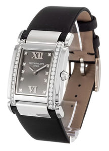 LADIES PATEK PHILIPPE TWENTY-4 4920G GREY DIAMOND