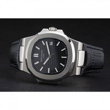Load image into Gallery viewer, MEN PATEK PHILIPPE NAUTILUS BLACK DIAL - Top Watches