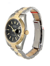 Load image into Gallery viewer, AUTOMATIC GOLD DATEJUST II 126303 BLACK DIAL
