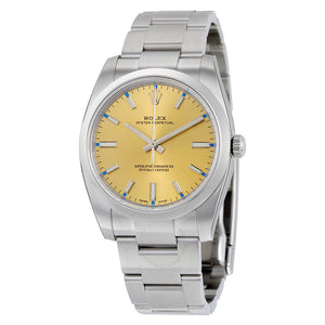 Oyster Perpetual 31mm Champagne Dial Stainless Steel Bracelet Automatic  Watch