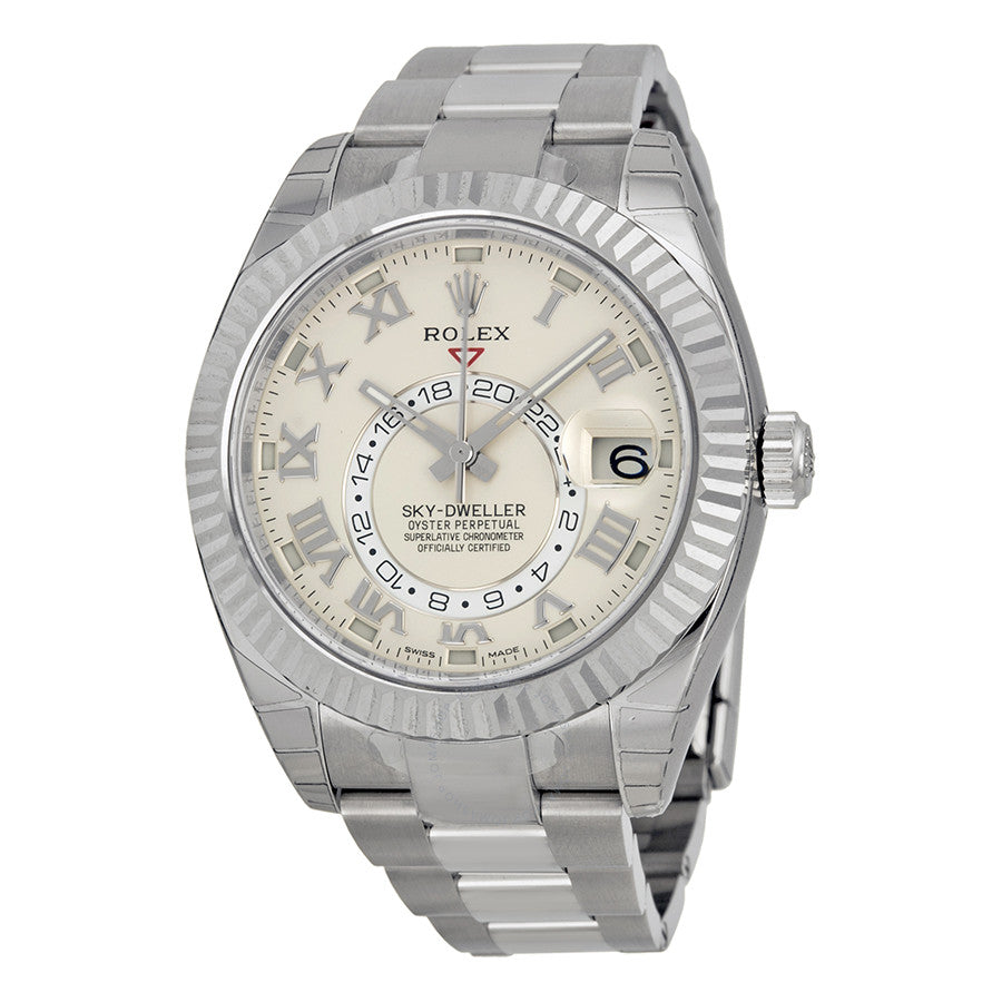 Rolex Oyster Perpetual Sky-Dweller 42mm Automatic Men Watch 326939-72419