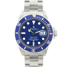 Load image into Gallery viewer, Submariner blue bezel