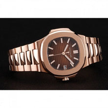 Load image into Gallery viewer, MEN PATEK PHILIPPE NAUTILUS 1453949 BROWN DIAL