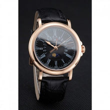 Load image into Gallery viewer, MEN PATEK PHILIPPE PERPETUAL CALENDAR 1454150 BLACK DIAL