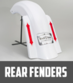 REAR FENDERS -  BAD DAD TOURING