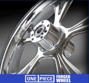 ONE-PIECE FORGED WHEELS