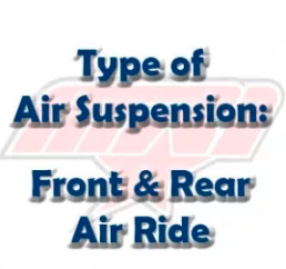 Type of Air Suspension: Front and Rear Air Ride