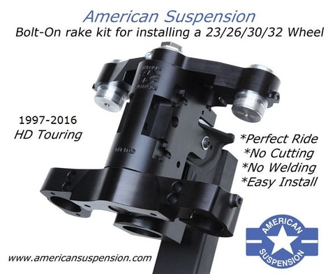 Bolt On Neck Kits  - American Suspension