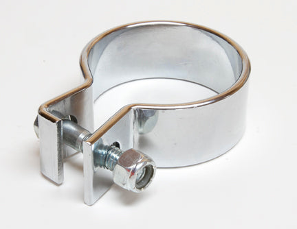 "Chrome Heavy Duty Side Clamp for 1¾"" Pipe"