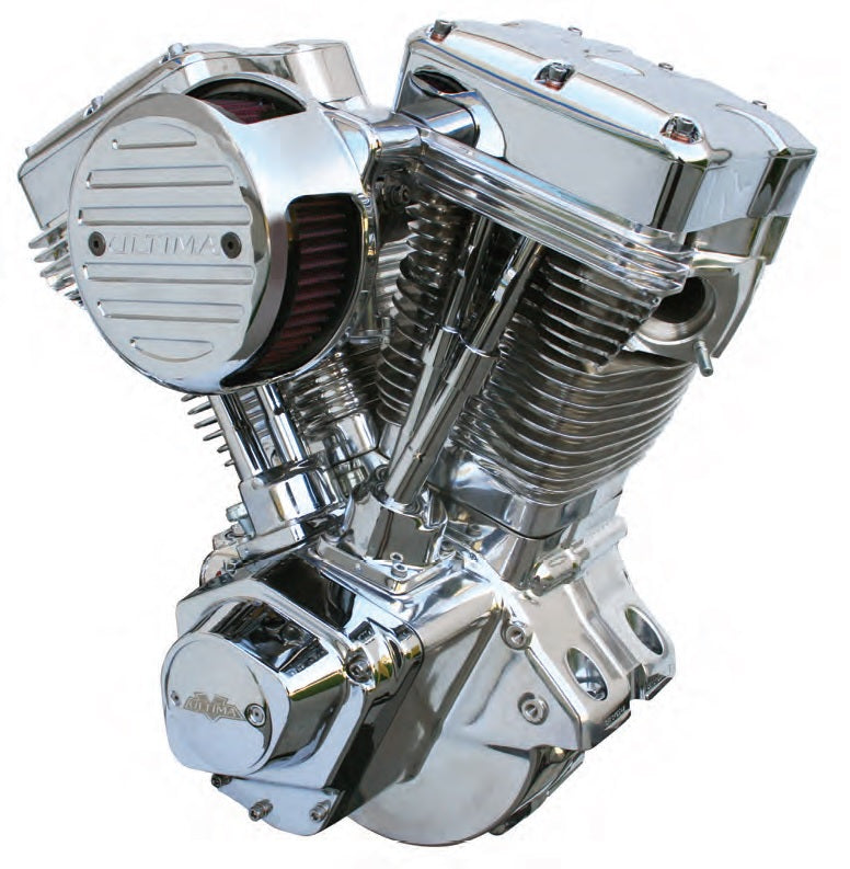 298-252 ULTIMA® EL BRUTO® 100 ci COMPLETE COMPETITION SERIES ENGINES POLISHED FINISH