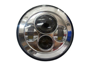 "5.75"" Chrome LED for Harley Softail models and some Dyna"