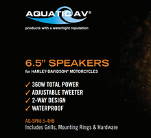 Load image into Gallery viewer, Aquatic HS111 Ultra Series 360W speakers
