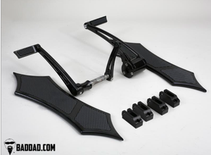 FORWARD CONTROLS WITH TOE SHIFTER & 966 FLOORBOARD KIT