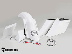 COMPLETE COMPETITION KIT WITH SIDE COVERS - 1997-2008 Touring