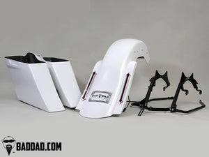 COMPLETE COMPETITION KIT WITH TAILLIGHTS - 200MM SOFTAIL