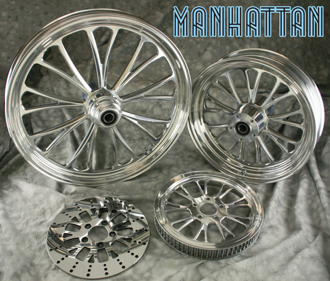 Manhattan Polished Wheels  (FRONT)