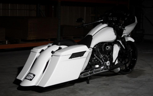 COMPETITION SERIES STRETCHED SADDLEBAGS FOR 1993-2013