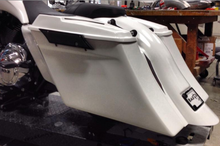 Load image into Gallery viewer, COMPETITION SERIES STRETCHED SADDLEBAGS FOR 1993-2013
